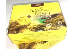 Sulfur Functional Soap серное мыло для проблемной кожи, от псориаза, дерматита, экземы (100 гр, Корея)