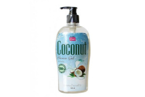 "BANNA COCONUT Shower Gel Гель для душа ""КОКОС"" (500 мл)"