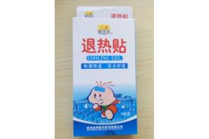 Cooling Gel детские пластыри от температуры (4 шт)