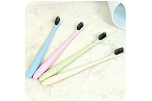 Органическая зубная щетка Wheat Straw Toothbrush