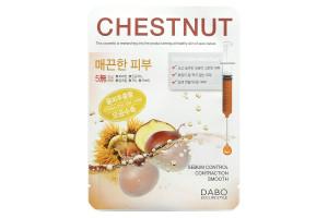 Dabo Chestnut First Solution Mask Pack маска с экстрактом каштана