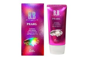 Ekel Pearl B.B Cream жемчужный ББ-крем SPF50+ PA++