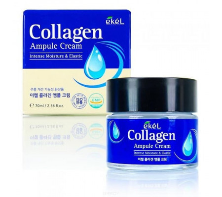 Ekel Collagen Ampoule Cream увлажняющий лифтинговый крем с коллагеном