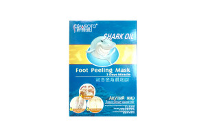 Носочки для педикюра Shark Oil Foot Peeling Mask Акулий жир