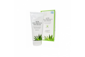 Jigott Aloe Sun Protect B.B SPF41 PA++ Cream ББ крем с экстрактом алоэ