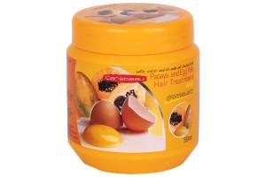 Лечебная маска для волос Папайя и Яичный желток CAREBEAU (Тайланд)