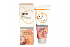 3W Clinic Snail Lovely Foam Cleansing очищающая пенка с муцином улитки