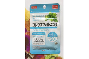 DAISO COLEUS FARSKOHLII 500 mg пищевая добавка «ФОРСКОЛИН (КОЛЕУС  ФОРСКОЛИИ)»