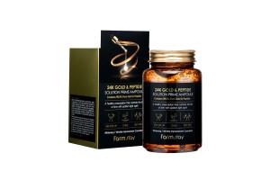 """24K Gold&Peptide Ampoule антивозрастная ампула """"Золото+пептиды"""", 250мл"""