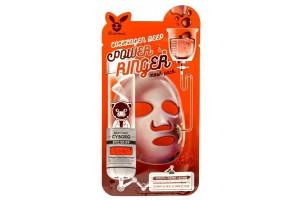 Elizavecca Collagen Deep Power Mask Pack укрепляющая тканевая маска с коллагеном