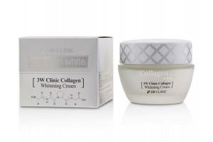 3W Clinic Collagen Whitening Cream осветляющий крем с коллагеном (АКЦИЯ с 7 по 9 ИЮЛЯ)