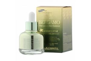 Bergamo Caviar Wrinkle Care Ampoule омолаживающая сыворотка с Икрой