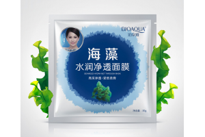 BioAqua Seaweed Hydra Net Through Mask тканевая маска с водорослями
