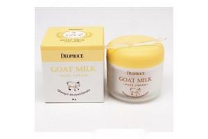 Deoproce Goat Milk Pure Cream антивозрастной крем с козьим молоком