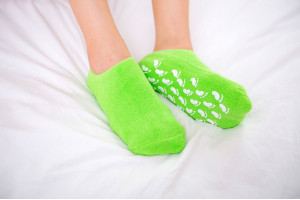 Гелевые SPA-носочки для ног (Китай)