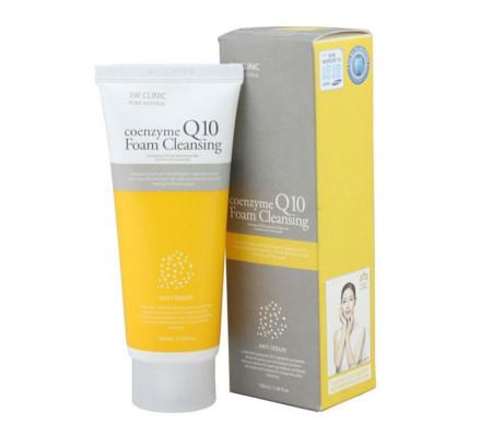 3W Clinic Coenzyme Q10 Foam Cleansing пенка для умывания с коэнзимом