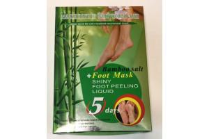 Носочки-пилинг для ног «Foot Mask» с бамбуковой солью (1 пара)