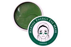 "Shangpree Ginseng Marine Energy Eye Mask гидрогелевые патчи ""Водоросли"""