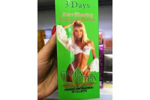 Антицелллитный крем для похудения «3 дня - 3 сантиметра» (зеленый чай)