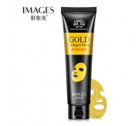 Images Gold Collagen Mask маска-пленка с золотом и коллагеном