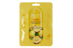 Jigott Vitamin Real Ampoule Mask ампульная маска с витаминами
