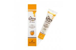 3W CLINIC Honey Eye Cream антивозрастной крем для век с медом