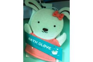 "Vovose Bath Glove детская мочалка-варежка для душа ""Собачка"""