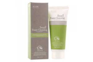 3W Clinic Snail Foam Anti Sebum пенка для умывания со слизью улитки