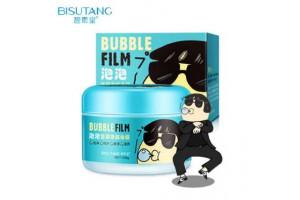 Bisutang Bubble Film пузырящаяся маска очищает поры от черных точек