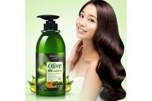Bioaqua Olive Elastin эластин - средство для укладки волос с Оливой