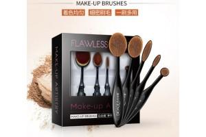Набор инновационных кистей для макияжа BioAqua Make-Up Brushes (5шт)