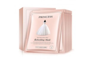BioAqua Princess Mask тканевая маска с экстрактом жемчуга