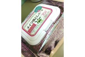 """Daiso Cleansing Tissue салфетки для снятия макияжа """"Коллаген и Олива"""""""