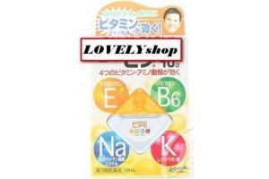 Витаминизированные капли для глаз Rohto Cool 40 (Япония)