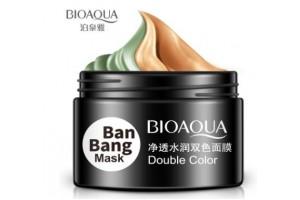 BioAqua BanBang Mask двойная маска для очищения Т-зоны/подтяжки овала