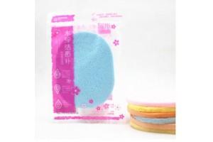 Water Care&Exquisite Texture спонж-флаттер для умывания и очищения