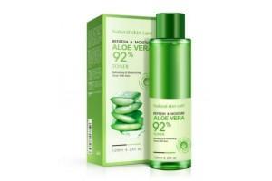 BioAqua Aloe Vera 92% освежающий и увлажняющий тонер с экстрактом Алоэ