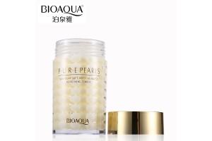 BioAqua Pure Pearls Sleep Mask омолаживающая ночная маска с жемчугом