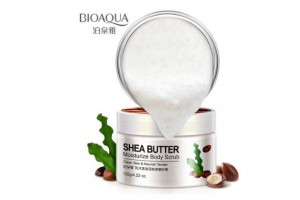 BioAqua Shea Butter Moisturize Body Scrub скраб для тела с маслом Ши