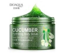 BioAqua Cucumber Hydrating Body Scrub скраб для тела с огурцом