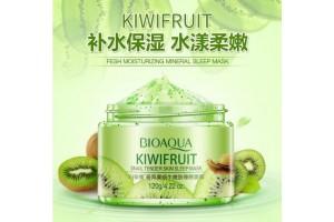 BioAqua Kiwi Fruit Sleepimg Mask ночная маска с Киви и Улиткой