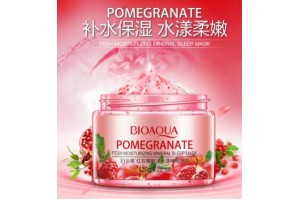 BioAqua Promegranate Sleepimg Mask ночная маска с экстрактом Граната