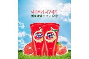 A'Pieu GrapeFruit Sun Gel SPF42 PA++ солнцезащитный гель с Грейпфрутом