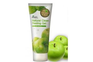 Ekel Apple Natural Clean Peeling Gel пилинг-скатка с экстрактом зеленого яблока (180 мл)