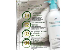 LADOR Keratin LPP Shampoo шампунь с Кератином (150ml)