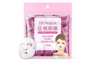 BioAqua Compressed Facial Mask прессованные маски-таблетки (50 шт)