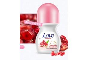 Bioaqua LOVE Moisturizing шариковый дезодорант (гранат)