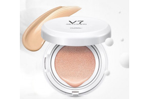 Rorec Air Cushion витаминный бб крем в кушоне (против тусклости)