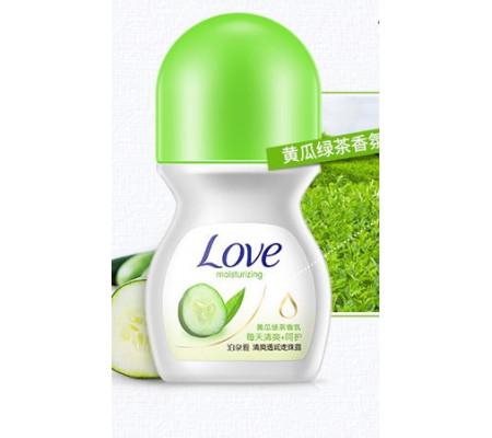 Bioaqua LOVE Moisturizing шариковый дезодорант с экстрактом Огурца