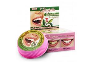 Isme Rasyan Herbal Clove Toothpaste отбеливающая зубная паста с маслом гвоздики (Тайланд)